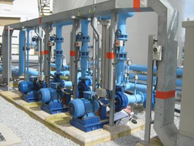 Hệ thống bơm công nghiệp Ebara