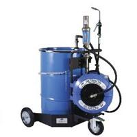 Bơm hóa chất thùng phuy bằng khí nén