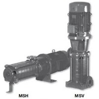 Máy bơm trục đứng Matra MS-D